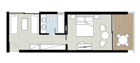 Family Bungalow floorplan