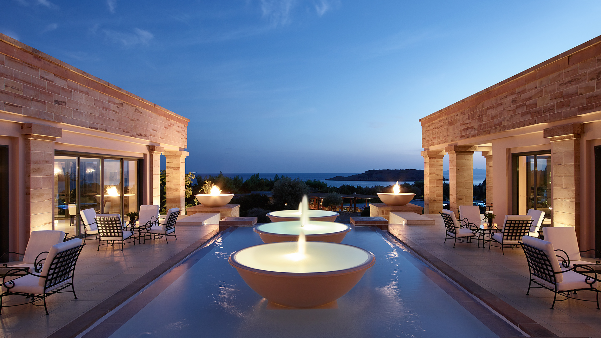 Cape Sounio Luxury Resort in Athens
