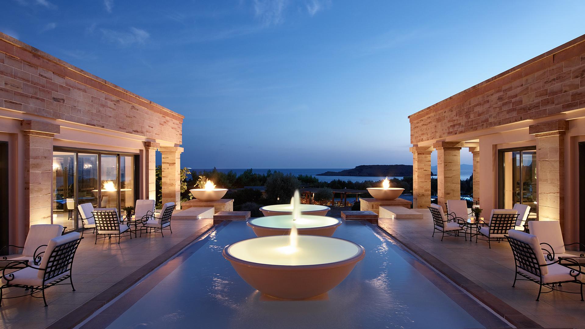 Cape Sounio Luxushotel Athen
