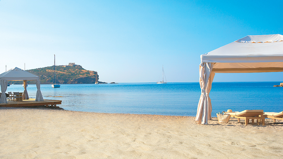 Magnificent Beach Athens Cape Sounio Resort
