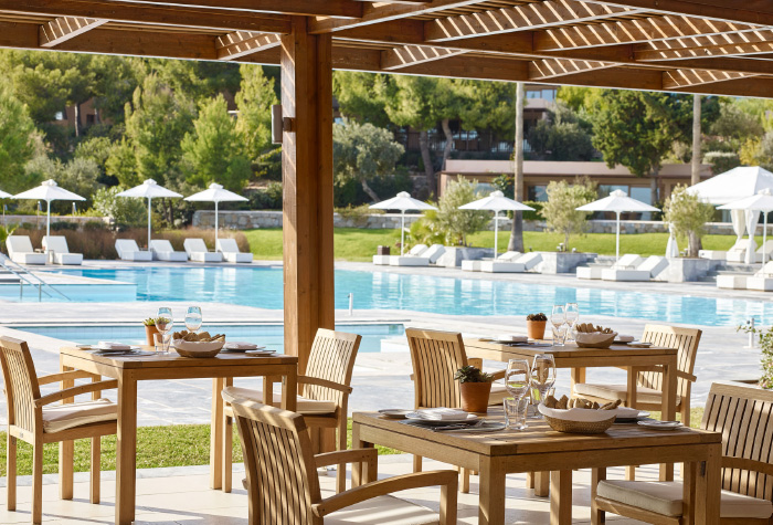 03-dining-by-the-pool-cape-sounio-luxury-hotel